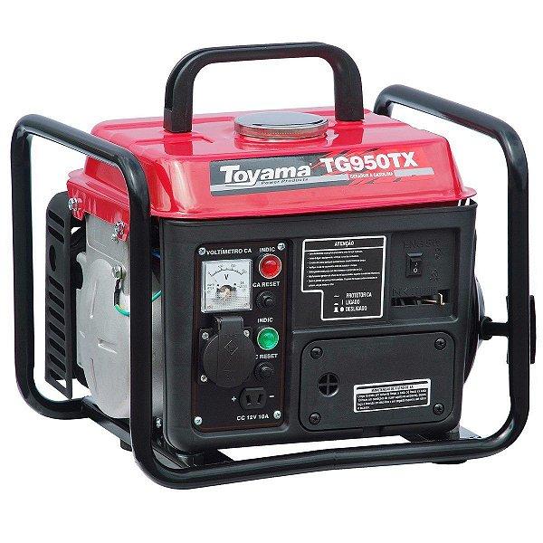 Gerador De Energia A Gasolina 127v 900w Tg950tx Toyama