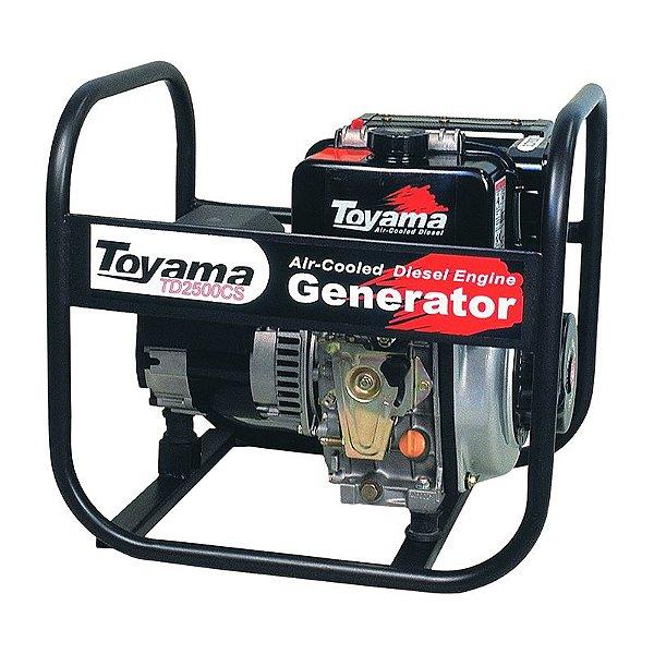 Gerador De Energia Diesel 2200W TD2500CS Toyama