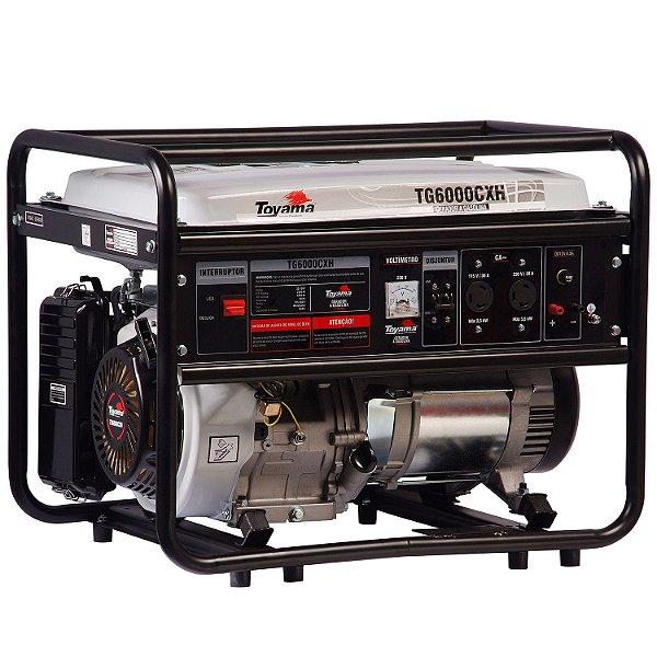 Gerador De Energia Gasolina 5,5 Kva Tg6000cxh Bivolt Toyama