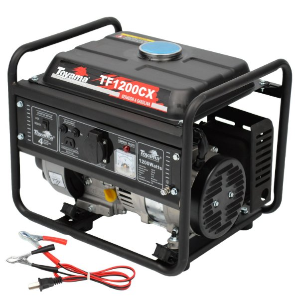 Gerador De Energia A Gasolina 1200w 127v Tf1200cx Toyama