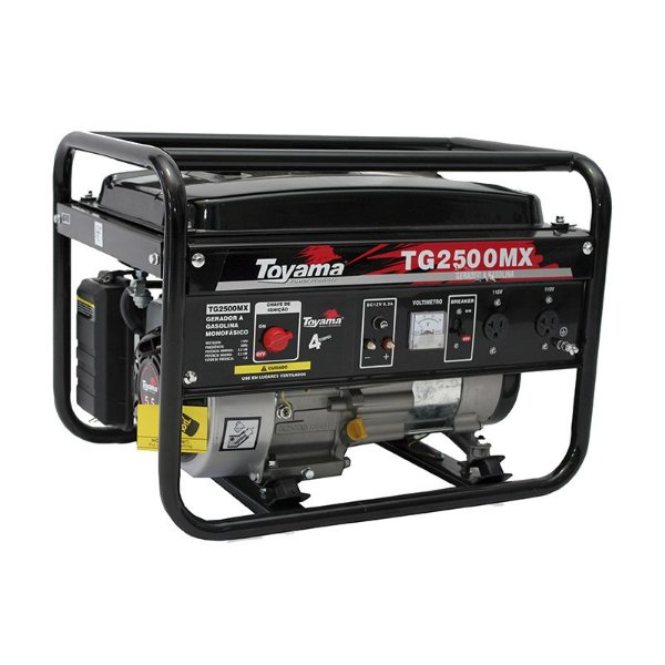 Gerador De Energia A Gasolina Tg2500mx 127v/220v - Toyama