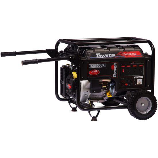 Gerador A Gasolina Tg6500cxe 6,5kva 4t P. Elétrica - Toyama