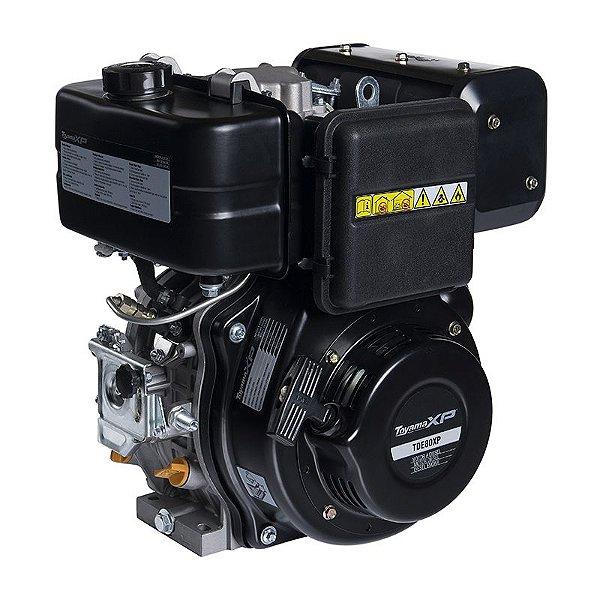 Motor À Diesel 4t 8hp 349cc Part. Eletric Tde80-exp Toyama