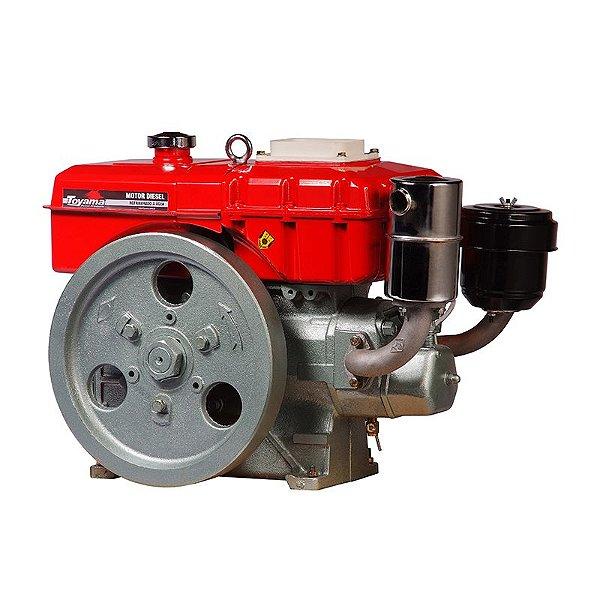 Motor Diesel Refrigerado A Água 402 Cc 7,7hp Tdw8 Toyama