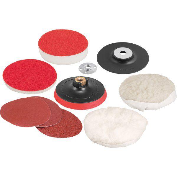 Jogo De Discos Para Lixar E Polir 4.1/2 - Vonder
