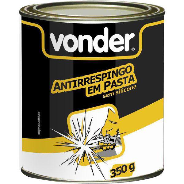 Antirrespingo Em Pasta Sem Silicone Com 350g Vonder