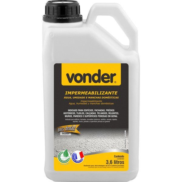 Impermeabilizante Acqua 3,6 Litros - Vonder