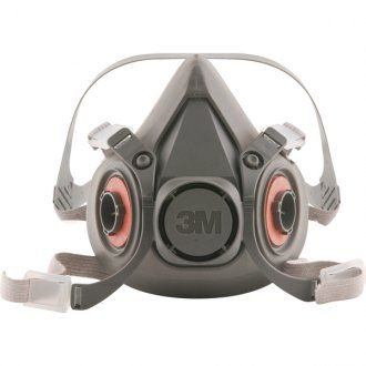 Respirador semifacial grande 6300 3M