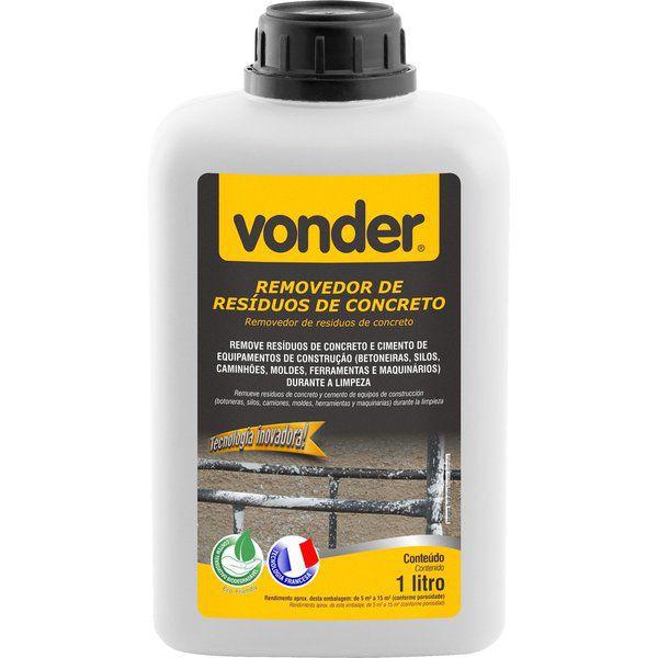 Removedor De Resíduos De Concreto 1 Litro Vonder