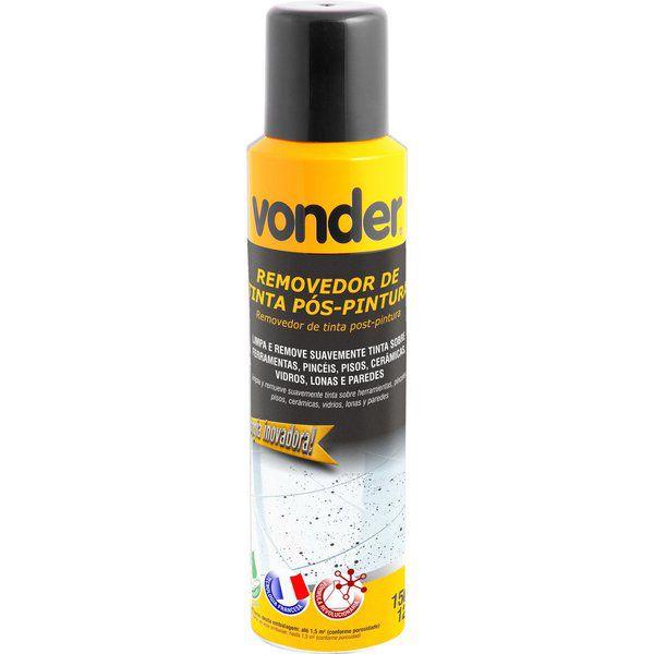 Removedor De Tinta Pós Pintura Em Spray 150 Ml Vonder