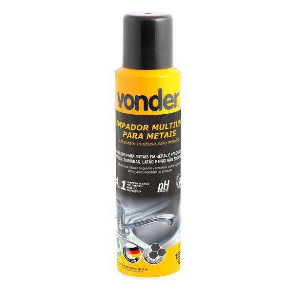 Limpador Multiuso Para Metais Tipo Spray 4x1 150 Ml Vonder