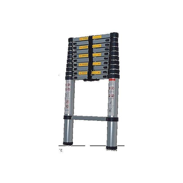 Escada Telescopica Aluminio 1x13 Worker