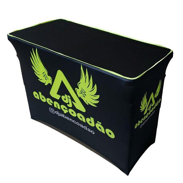 Personalizar Capa  para mesa dobrável em Elastano NeOn 122x61x84e90cm