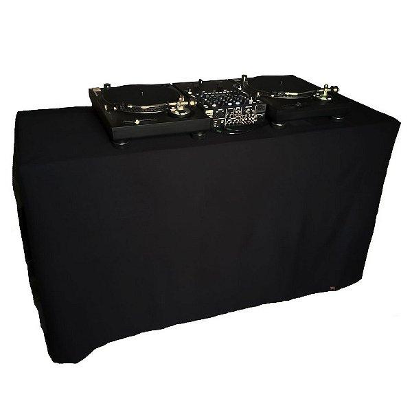 Capa para mesa Multiuso Black Total com ilhoses 240x140cm