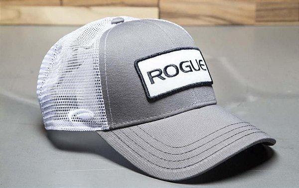 Boné Rogue Patch Trucker Hat -Cor Cinza