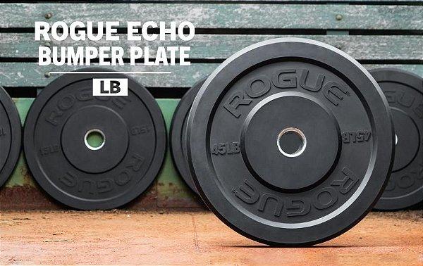 Anilha Rogue Echo Bumper 25libras (11,34kg) - Unitário