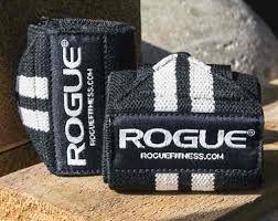 Munhequeira Rogue Wrist Wraps – Tamanho: pequeno 12'' (30cm) - Par