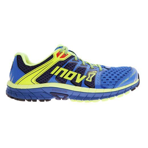 Tênis INOV-8 RUN  ROADCLAW 275 - Cores Azul/Amarelo