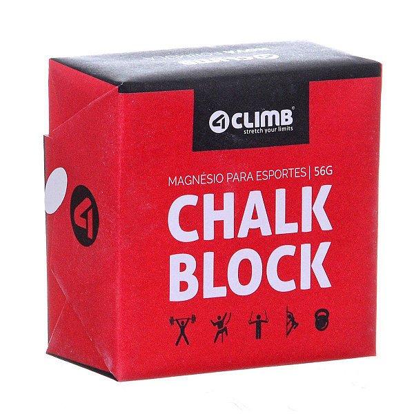 Gym Chalk (Magnésio)  - bloco de 56 gramas - unidade