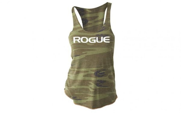 Rogue Basic Women's Tank (Regata)  - Cor: Camuflagem