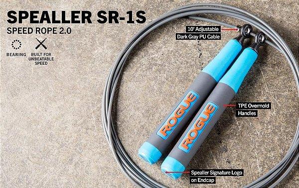 Corda de Pular  Spealler Rogue SR-1S 2.0 - cabo curto