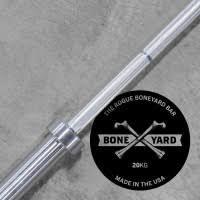 Barra Olimpica ROGUE Boneyard Feminina Bella 2.0 - Cor Prata com Mangas Prateadas -15kg