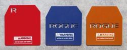 Placas Peso para Coletes - ROGUE