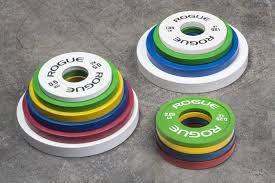 Anilha ROGUE Colorida Change Plates - KG - Par