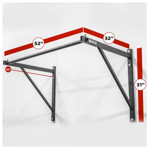 Barra ROGUE P-4 Flexão (Pull-Up) Parede