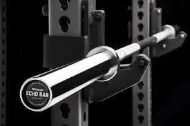 Barra Olímpica Masculina ROGUE 28.5mm Echo Bar - 20kg