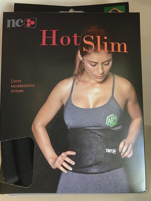 Cinta Modeladora Hot Slim - NC - Cor Preto