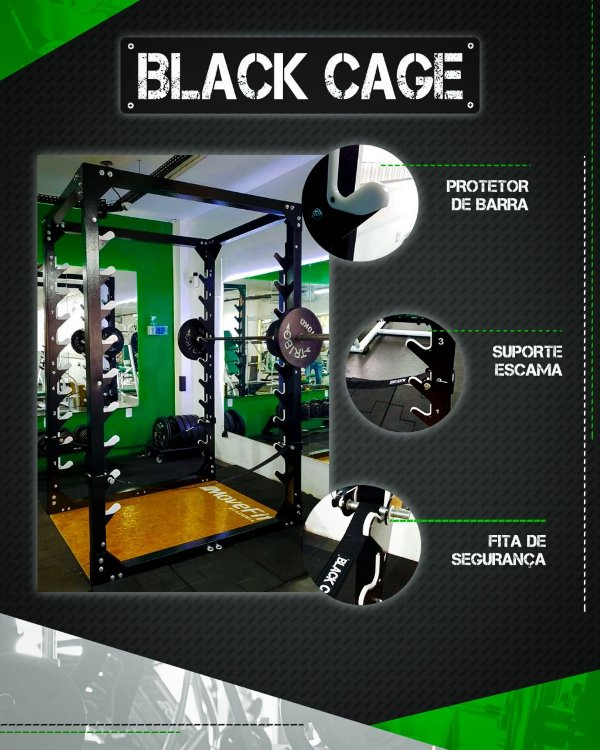 Black Cage - Power Rack
