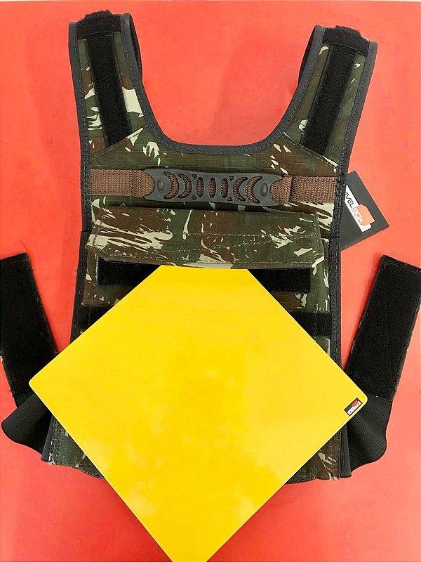 Placa Peso Coletes 10lb (4,5kg) - unidade