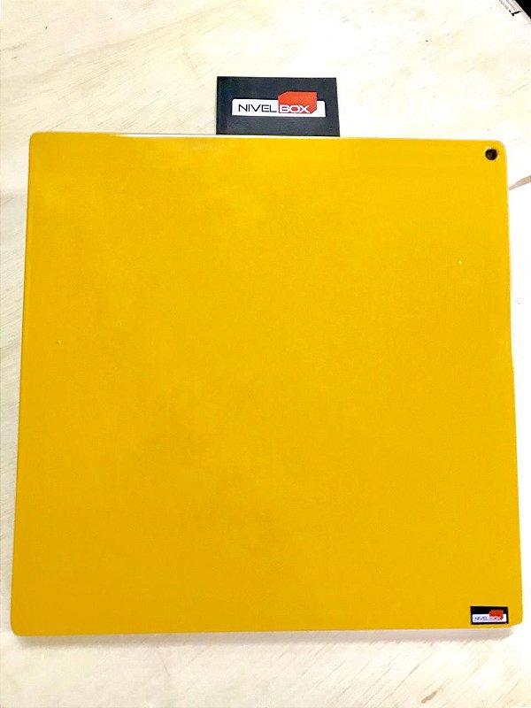 Placa Peso Coletes 10lb (4,5kg) - Cor Amarelo - unidade
