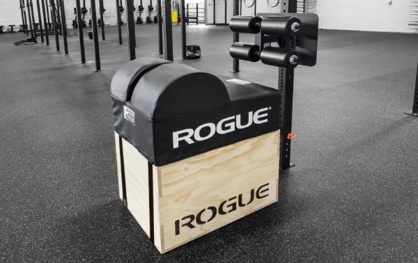 Rogue Echo GHD 3x3 + Suporte Parede + Barra Estabilizadora +Caixa Pular Rogue