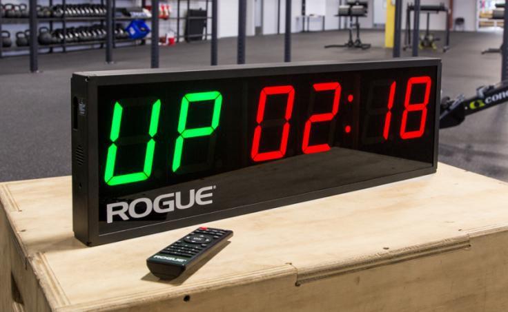Relógio Rogue Echo Gym Timer com Controle Remoto - (USADO)