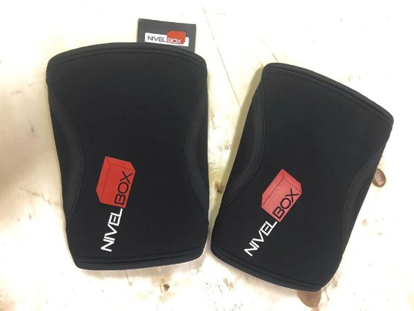 Joelheira NIVELBOX - Knee pad 7mm - Preto