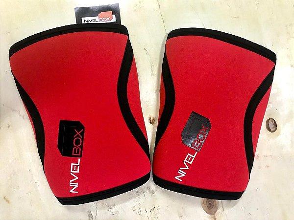 Joelheira NIVELBOX - Knee pad 7mm - Vermelho