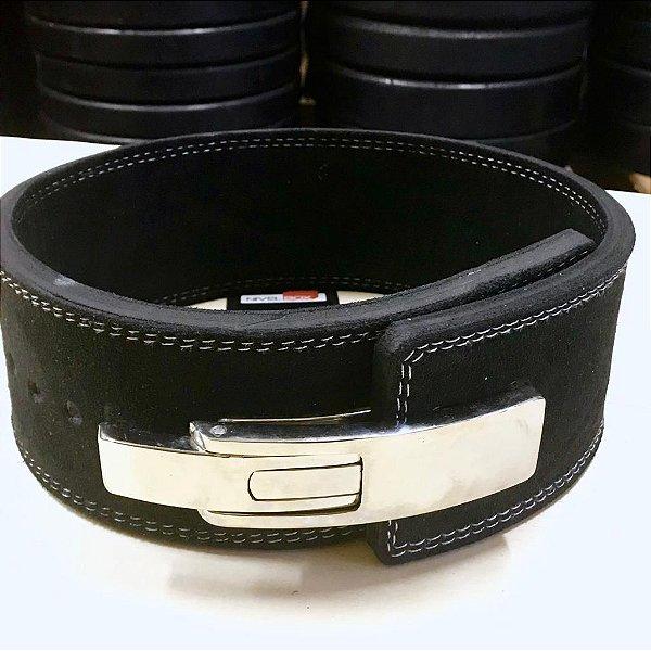 Cinto NiVELBOX - Couro 10mm - Fivela Alavanca