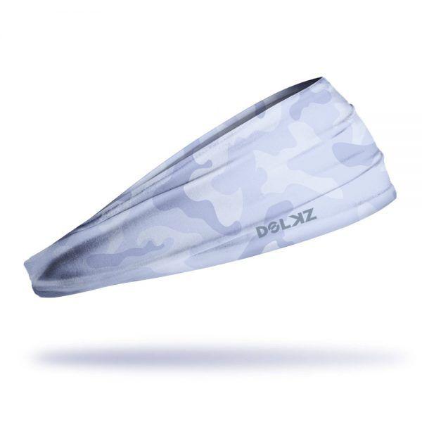 Headband Slim Dolkz - Light Grey Camo