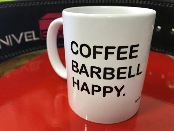 Caneca Crossfit - Coffee Barbell Happy