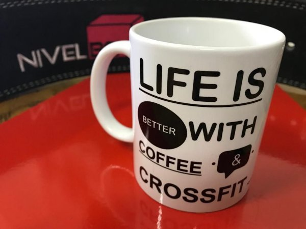 Caneca Crossfit - Life is Better