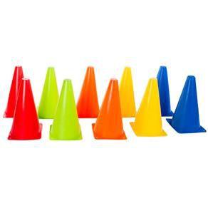 Cone Agilidade Colorido 19cm - Unidade
