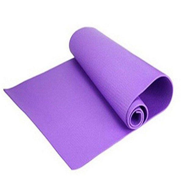 Tapete Colchonete Yoga - Pilates - Ginástica - Cor Roxo