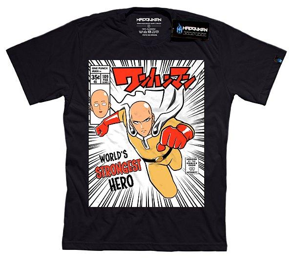 Camiseta O Herói mais forte do Mundo