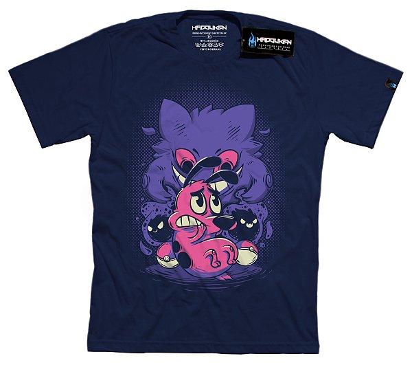 Camiseta A Coragem de um Pokemon