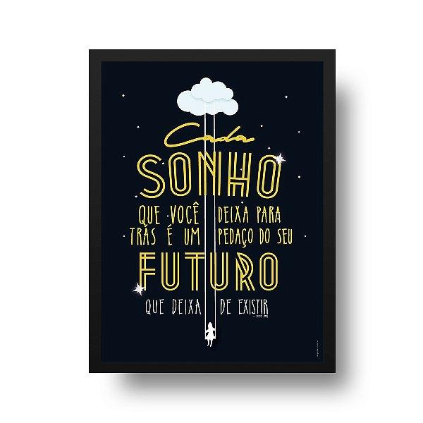 Poster Sonho - Steve Jobs