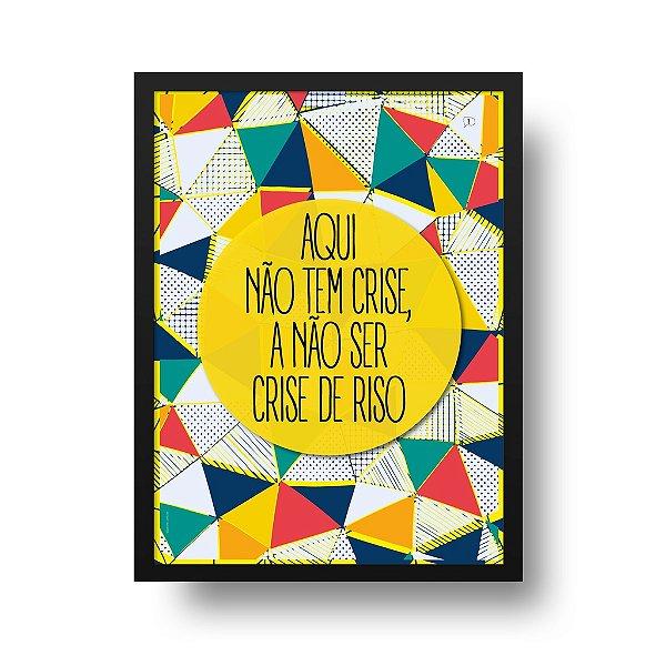 Poster Riso - Crise de Riso