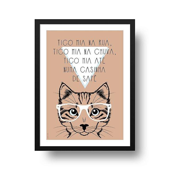 Poster Gato - Tico Mia