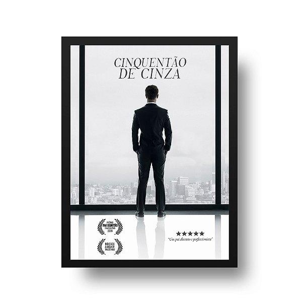 Poster para Pai - Cinquentão de Cinza
